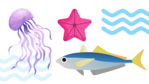 Are Jellyfish and Starfish similar to Fishes?